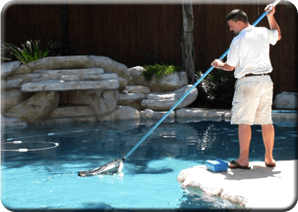 Pool maintenance company