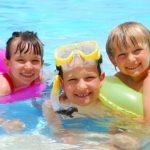teach kids how to swim early