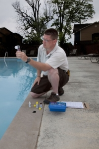 managing pool chemicals