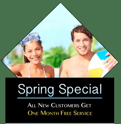 spring pool specials