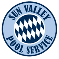 sun valley pool service logo