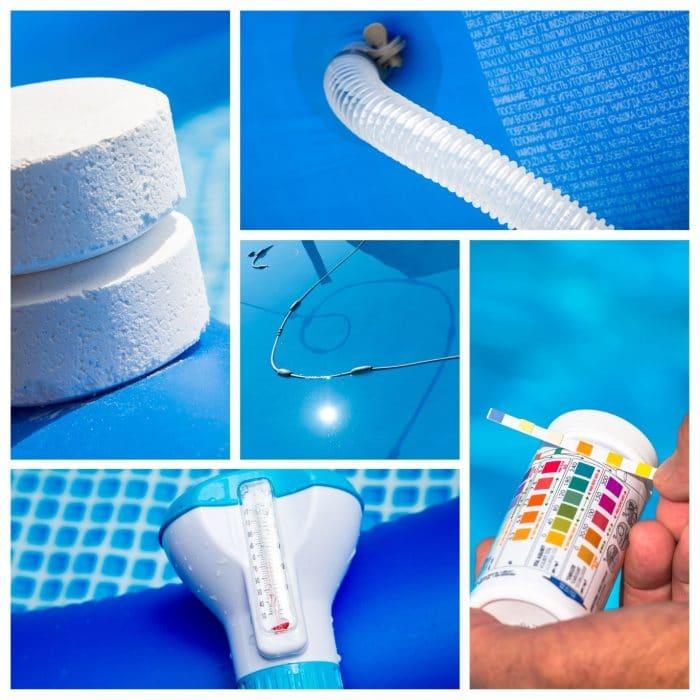 pool equipment, winterizing